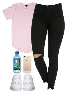 """そう so"" by ishalaellis ❤ liked on Polyvore featuring adidas"