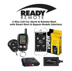 Car Alarms and Security Systems: Ready Remote 5303R 2 Way Car Alarm Remote Start Viper Vsm200 Smartstart And Dball2 -> BUY IT NOW ONLY: $179.99 on eBay!