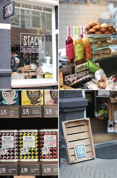 Stach is a great (delicatessen) shop / restaurant / take-away with two stores in Amsterdam.