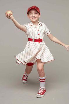Retro Baseball Player Costume For Girls  sc 1 st  Pinterest & Girls Pink Rockabilly Costume   costumes   Pinterest   Rockabilly ...