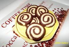 Csokoládés-kókuszos tallérok Biscuits, Recipies, Muffin, Food And Drink, Xmas, Sweets, Cookies, Breakfast, Cake