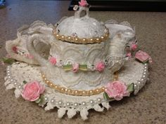 candle teapot I altered