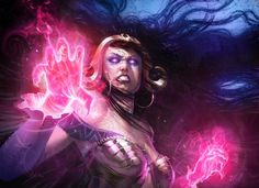Angry Liliana (Magic The Gathering Fanart) by Pierre Droal
