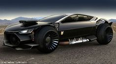 Ford Mad Max Interceptor Concepts – Click above for high-res…