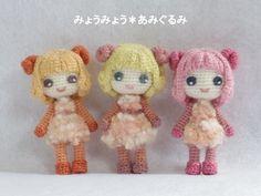 niñas fantasia amigurumi pagina japonesa