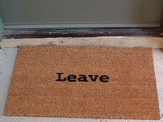 I have this door mat. Love it!