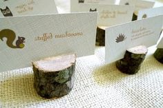 stump card holders!