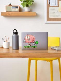 """Brain Fart"" Sticker by arendbotha | Redbubble Vogel Illustration, Woman Illustration, Giraffe Illustration, Music Illustration, Holly Hobbie, Framed Prints, Canvas Prints, Art Prints, Polaroid Frame"