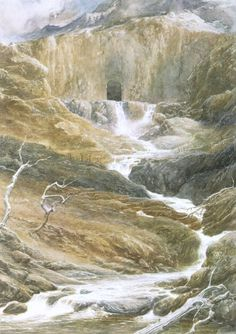 La Montaña Solitaria - Alan Lee