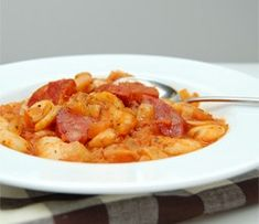 Sausage & Bean Stew - The Resourceful Cook