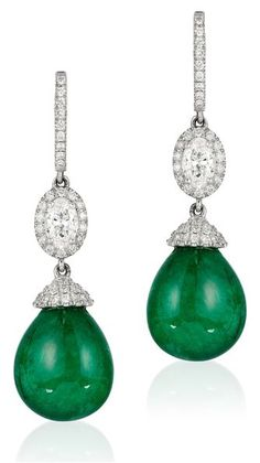 Emilie Shapiro Isesi Emerald Earrings Anthrofave Jewelry Stone