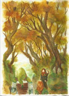 Dwarves on their way to better life. Zuzana Richterová.