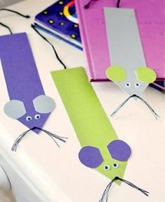 Mouse Crafts For Kids ( ...the week before Christmas and all through the store...)