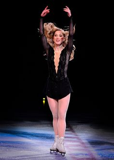 Stars On Ice 2013 • Joannie Rochette-she may be back for 2014 Olympics!