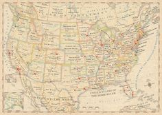 """True Names"": an OMNI Resources map giving the literal meanings of US state names"