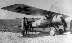 Captured Morane-Saulnier Type P