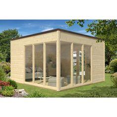 Gartenhaus Modell Cubus-40 E