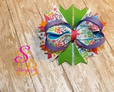 Big Sister Boutique Hair Bow by Shana's Boutique