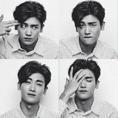 Park Hyung Sik trying out different facial expressions. Park Hyung Sik, Asian Actors, Korean Actors, K Pop, Ahn Min Hyuk, Park Bo Gum, Do Bong Soon, Park Bo Young, Yoo Ah In
