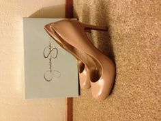 Nude shoes -Jessica Simpson