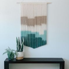 Teal inspired piece for the day spa at @yosemite_rushcreek in Yosemite! Cannot wait to see how they incorporate them into their beautiful space! #Regram via @CEMnb-fj4O0 Bohemian Nursery, Bohemian Decor, Bohemian Living, Wall Art Decor, Nursery Decor, Mid Century Modern Living Room, Large Macrame Wall Hanging, Hotel Decor, Home Decor Inspiration