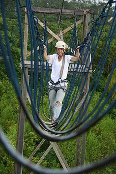 High ropes...check....and hated it