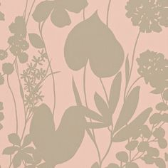 Harlequin Nalina Wallpaper - Peach - 111051 ($86) ❤ liked on Polyvore featuring home, home decor, wallpaper, pink, floral pattern wallpaper, diamond home decor, floral wallpaper, flower pattern wallpaper and pattern wallpaper