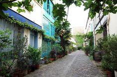 Paris : Cité du Figuier, des ateliers de métallurgie aux ateliers d'artistes - 104-106 rue Oberkampf - XIème | Paris la douce