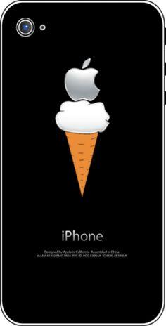 iTattoo.com: Ice Cream Anyone?, iPhone Sticker Decals, $19.99