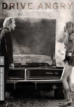 """""""Drive Angry"""" Fake Criterion Cover Art"""