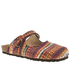 Schuh Purple Explore Womens Sandals Get out and Explore in bohemian style, with this vibrant design from schuh. The fabric upper is formed from threads of purple, orange, navy and off-white. A Mary-Jane style buckle strap, cork latex mi http://www.MightGet.com/january-2017-13/schuh-purple-explore-womens-sandals.asp