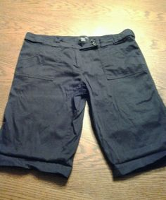 Women's The Limited Drew fit size 12 shorts black #thelimited #drewfit
