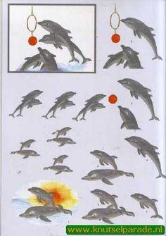Nieuw bij Knutselparade: 1306 Hoca knipvel dolfijn 242 https://knutselparade.nl/nl/dieren/2813-1306-hoca-knipvel-dolfijn-242.html   Knipvellen, Dieren  -