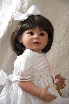 ~reborn toddler doll by Linda Murray of the Cradle~Bonnie~OOAK~NewDawnNursery~ | eBay