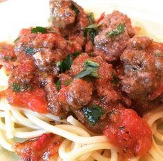 Spaghetti Meatballs à la moi