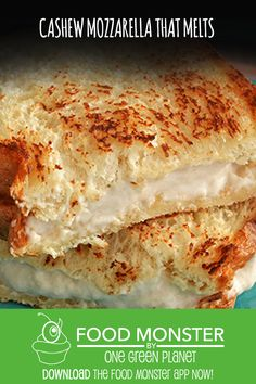 Cashew Mozzarella That Melts Vegan Gluten Free One Green - All You Need Is A Little Patience And You Will Have Delicious Gooey Mozzarella That Will Taste Like Its Fresh From The Countryside Of Italy Cashew Mozzarella That Melts Vegan Gluten Free Vegan Cheese Recipes, Vegan Foods, Vegan Snacks, Vegan Dishes, Dairy Free Recipes, Raw Food Recipes, Vegan Gluten Free, Cooking Recipes, Cashew Cheese