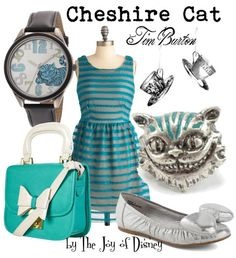 Inspired by the Cheshire Cat from Tim Burton's Disney Alice in Wonderland movie