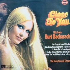 The Tony Mansell Singers - Close To You: Hits From Burt Bacharach
