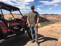 #Throwback to a great time in Moab. The best part is the #PolarisRZR was a rental;) Drive it like you rented it! #Moab #Utah