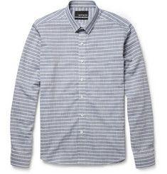 BespokenSlim-Fit Striped Cotton Shirt