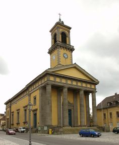 St. Ludwig Catholic Church - Ansbach, Germany (going to have to attend mass here at least once, after I learn some German!)