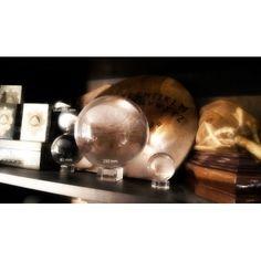 Sfera di Cristallo Trasparente per chiromante