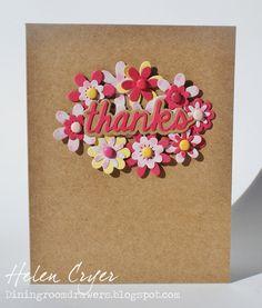 Sizzix Card - thanks