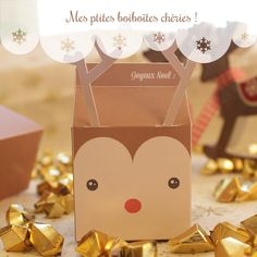 Free Printable Christmas Gift Boxes