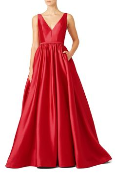 Rent Pomegranate Gown by ML Monique Lhuillier for $125 only at Rent the Runway.