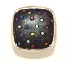 JOSE MARÍN - GOLDSMITH Titanium Jewelry, Titanium Rings, Jose Marin, Modern Jewelry, Metal Art, Brooches, Jewelry Design, Jewellery, Jewels
