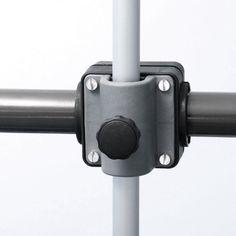 Menz universal Balcony Parasol/Umbrella Holder, Black/Silver, 1 pcs., for all Railing Profiles, Free Delivery, Quality product Made in Germany Menz Stahlwaren GmbH http://www.amazon.co.uk/dp/B003O3U0PU/ref=cm_sw_r_pi_dp_-2Qlvb1F5TX0R