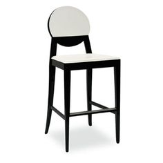 Cool Black and White Bar stools