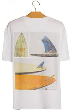 Osklen - T-SHIRT STONE BOARD DETAILS MC - t-shirts - men