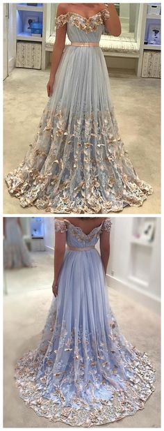 Quinceanera Dresses, Lace Appliqued Prom Dresses,Off the Shoulder Prom Dresses,Cheap Prom Dresses,Plus Size Prom Dresses,Prom Dresses Cheap, Prom Dresses 2018,long Prom Dresses, #eveningdresses #eveninggowns #formaleveningdresses #promdresses #ballgowns #graduationparty